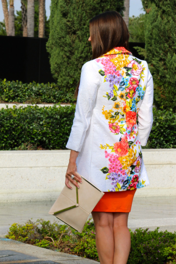 sheinside flower coat 1