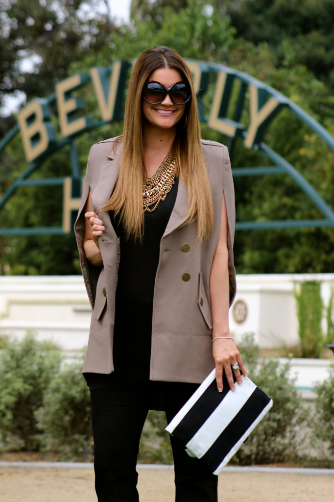 beverly hills asos cape fashion blogger 2